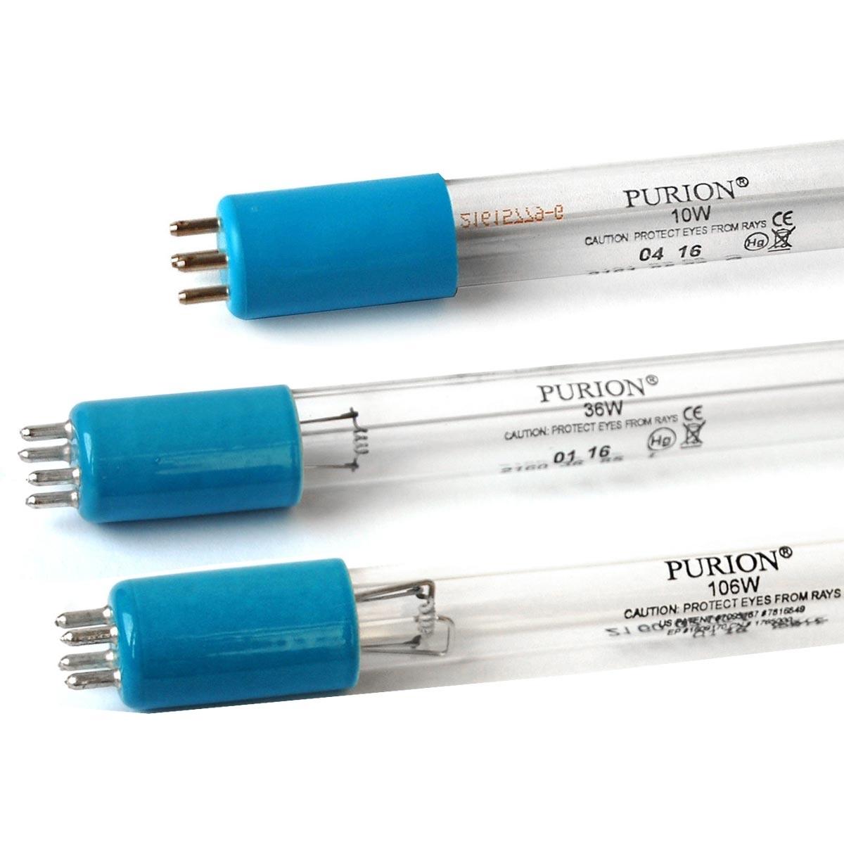 Ersatzlampen für UV-Filteranlagen