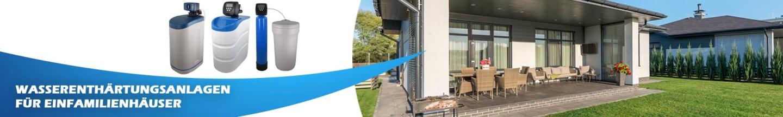Banner Wasserenthärtungsanlage Einfamilienhaus